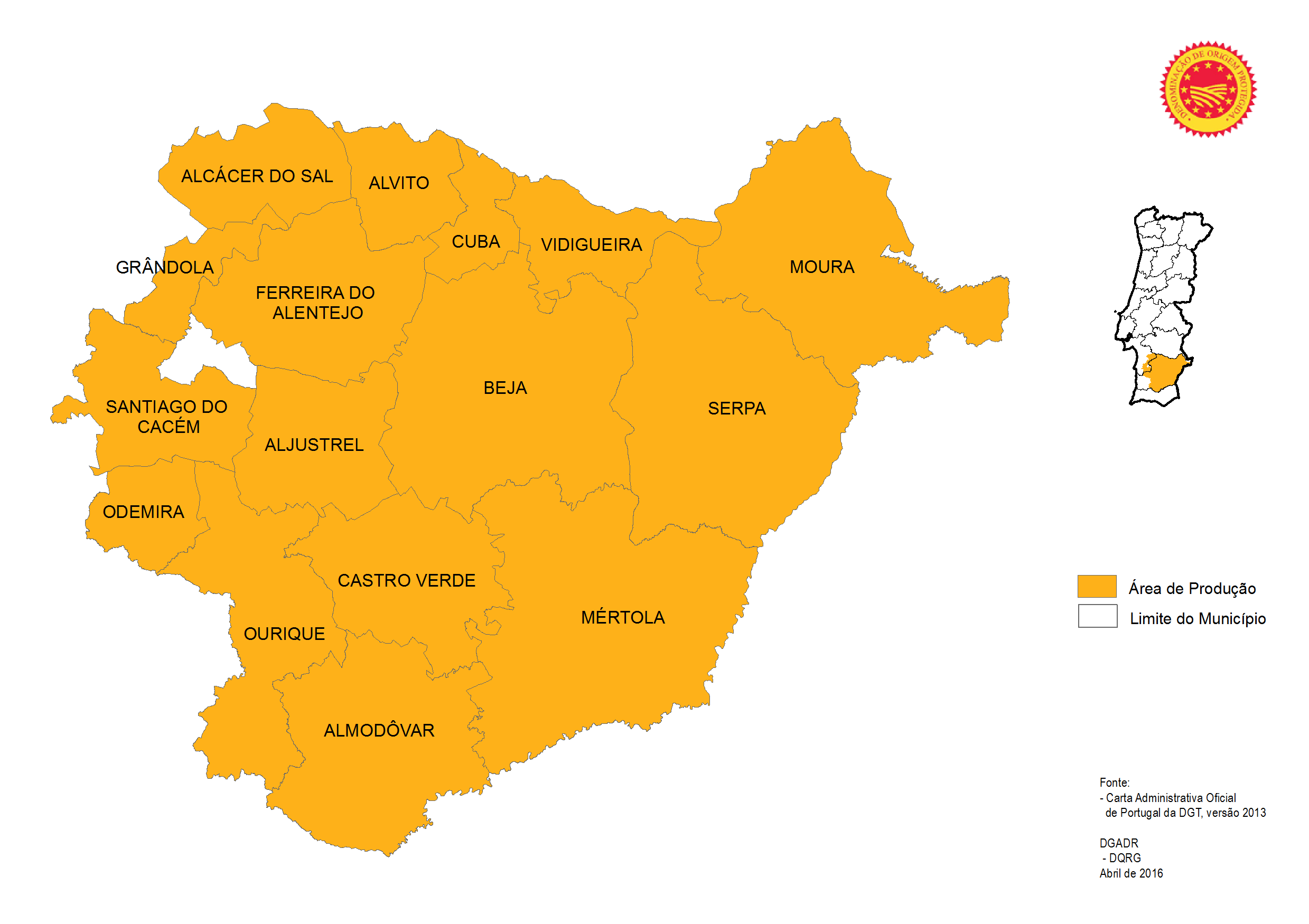 mapa de portugal serpa Produtos Tradicionais Portugueses   Queijo Serpa DOP mapa de portugal serpa