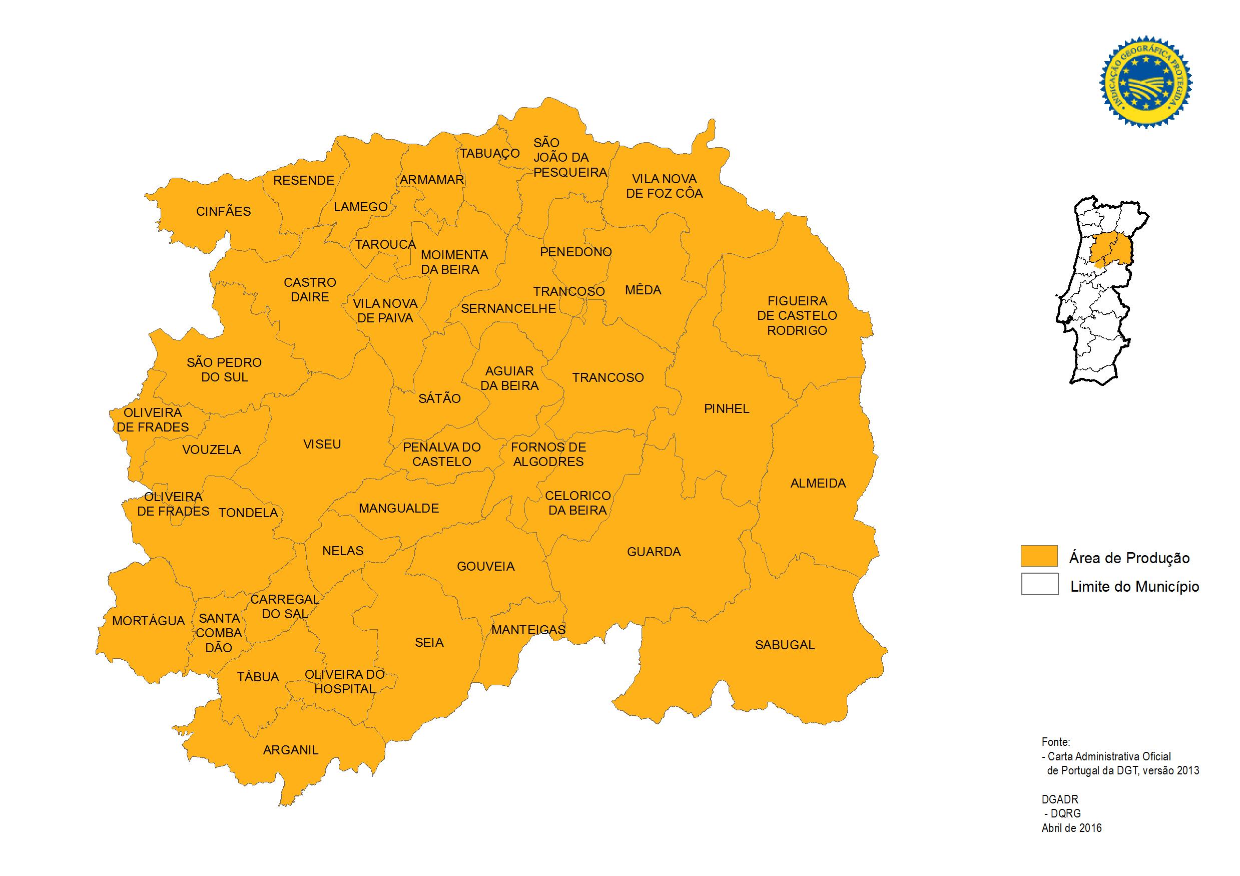 beira alta mapa Produtos Tradicionais Portugueses   Maçã da Beira Alta IGP beira alta mapa