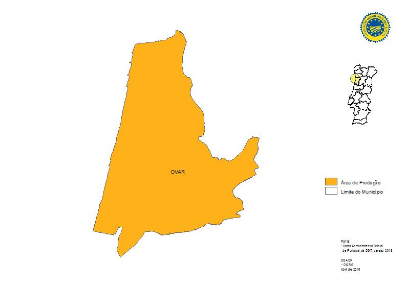 ovar mapa Produtos Tradicionais Portugueses   Pão de Ló de Ovar IGP ovar mapa